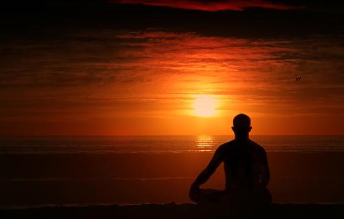 медитация и косопад