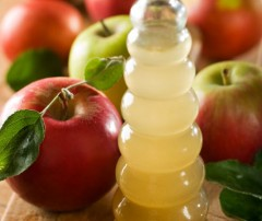 ябълков оцет при косопад