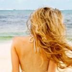 Морската вода лекува косопад
