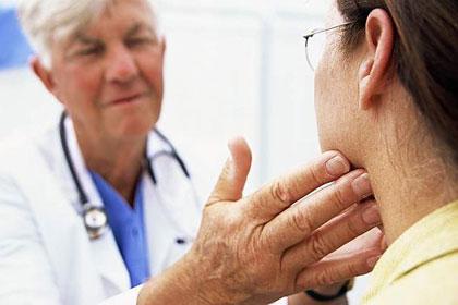 щитовидна жлеза и косопад