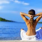 Как морската вода се отразява на косата ни