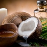 Кокосовото масло бич на косопада