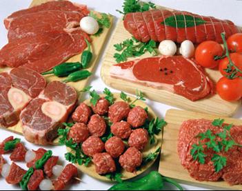 Червеното месо съдържа много желязо