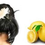 2 рецепти с лимонов сок срещу косопад