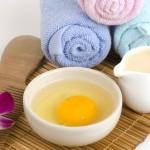 Рецепта с яйце и мляко срещу косопад